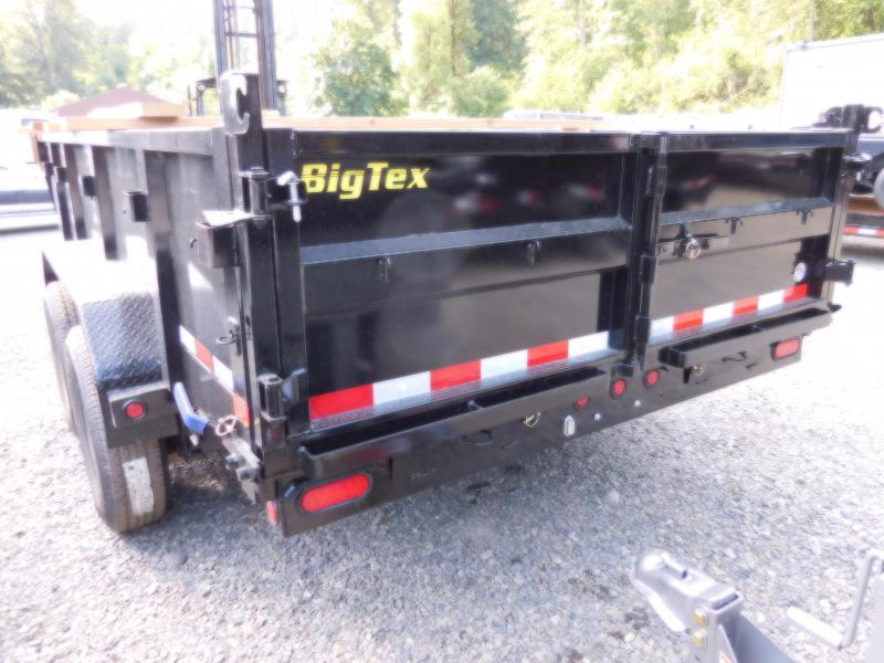 2019 Big Tex 14LX-14 Dump Trailer - Scissor Lift - Ramp Kit