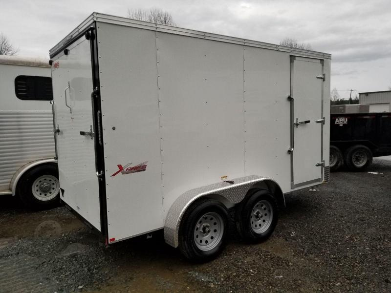 2019 Mirage 6x12 Xpres Tandem Axle Enclosed Cargo Trailer