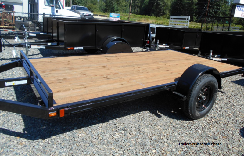 2018 Iron Eagle 6.5x12 ATV Series Flatbed Trailer