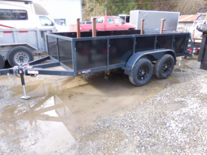 2018 Iron Eagle 6x12 Tandem Axle Voyager Series Utility Trailer with Split Gate Combo