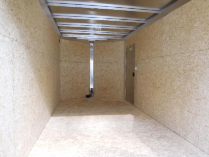 2019 EZ Hauler 7x14 All-Aluminum w/Barn Doors Enclosed Cargo Trailer
