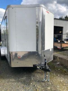 2019 Mirage 7x16 Xpres Barn Doors Enclosed Cargo Trailer