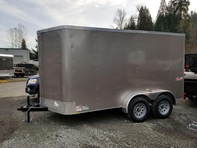 2019 Mirage Xpres 6x12 Tandem Axle Enclosed Cargo Trailer