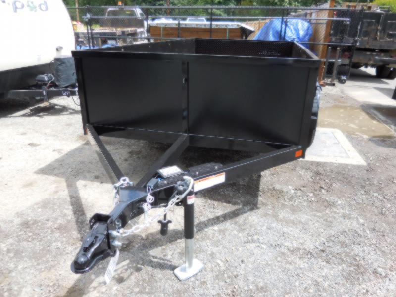 2018 Iron Eagle 6x12 Voyager Series Tandem 7K Utility Trailer - Split Ramp Tailgate