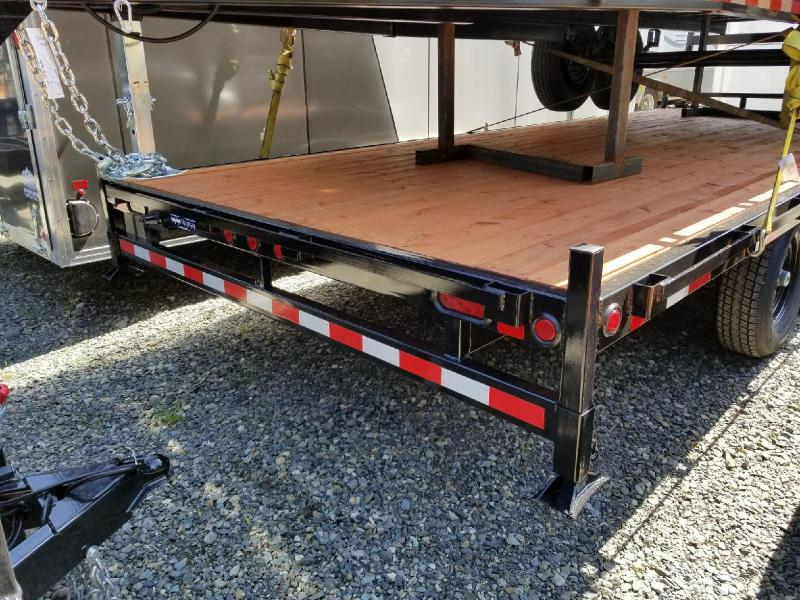 2018 Iron Eagle 8x20 Titan Series 14K Equipment Flatbed Trailer
