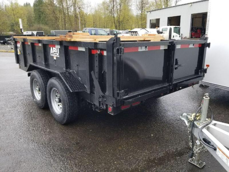 2019 ABU 7x14 16K Industrial Dump Trailer with Combo Tailgate