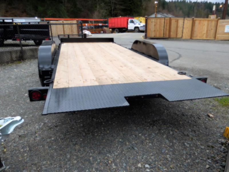 2018 ABU 7x18 Full Tilt Flatbed Trailer