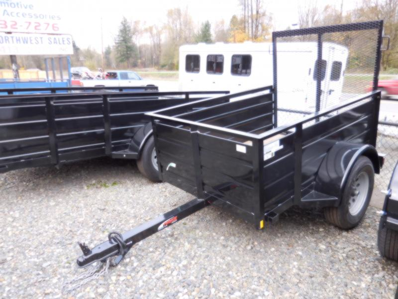 2017 Mirage 4x6 Utility Trailer with Rear Landscape Ramp