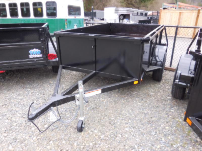 2018 Iron Eagle 5x8 Voyager w/ Stake Pockets and Combo Split Ramp Gate
