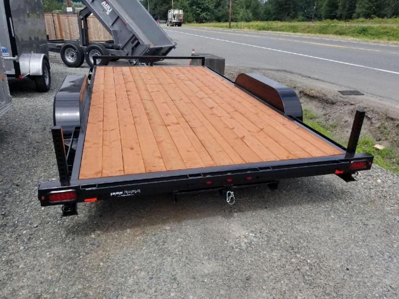 2019 Iron Eagle 7x14 7K Series Flatbed Trailer