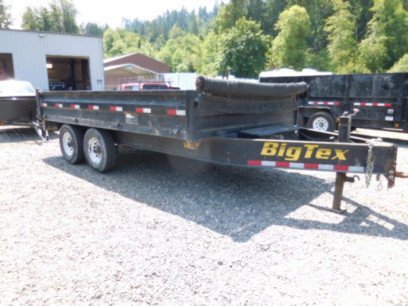 Used 2013 Big Tex 140D-14 14K Dump Trailer
