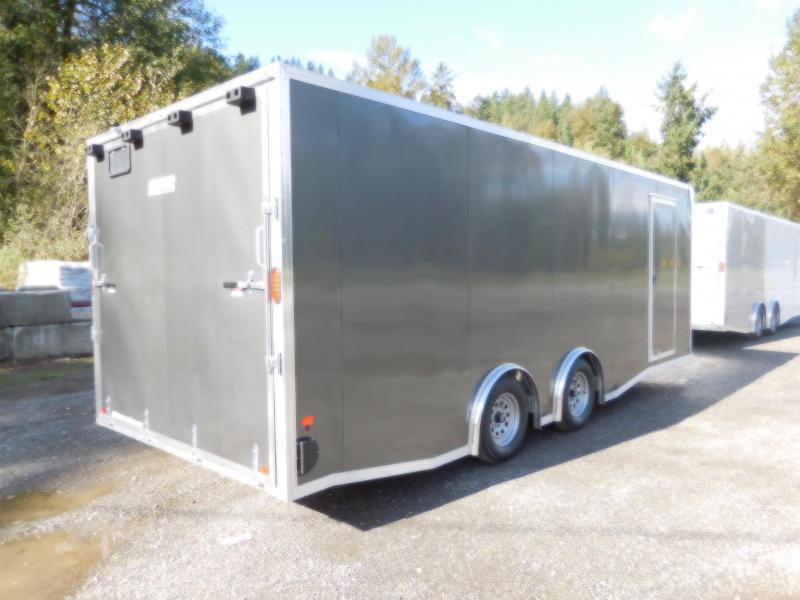 2019 EZ Hauler 8x22 Enclosed Car Hauler Cargo Trailer