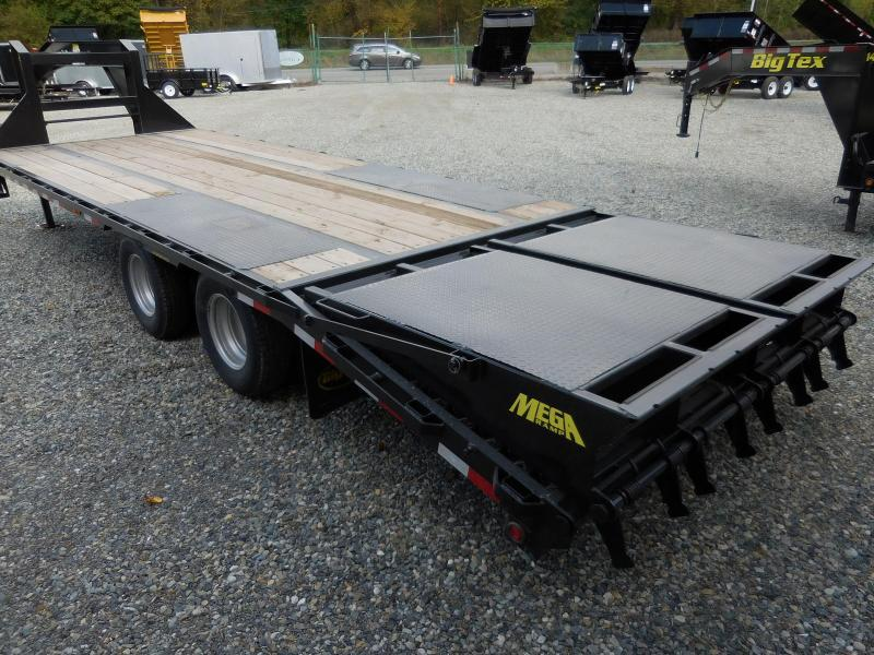 2019 Big Tex 25+5 Gooseneck With Mega Ramps
