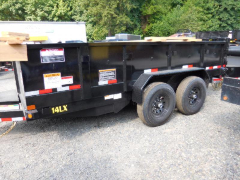 2019 Big Tex 14LX-14 Dump Trailer - Ramp Kit - Scissor Hoist