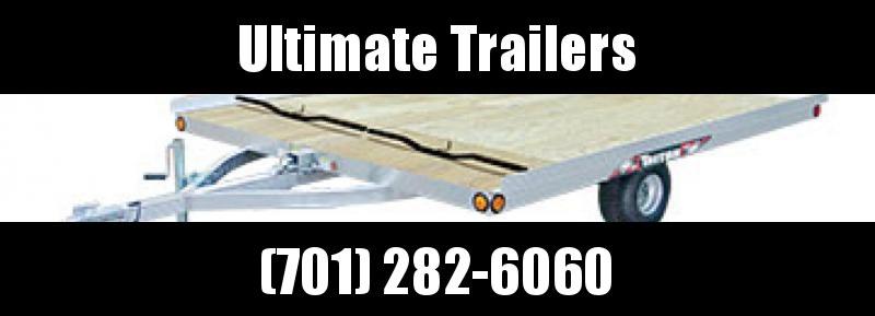 2018 Triton 8.5' x 10' 2 Place Triton Aluminum Tilt Snowmobile Trailer - XT10 Series