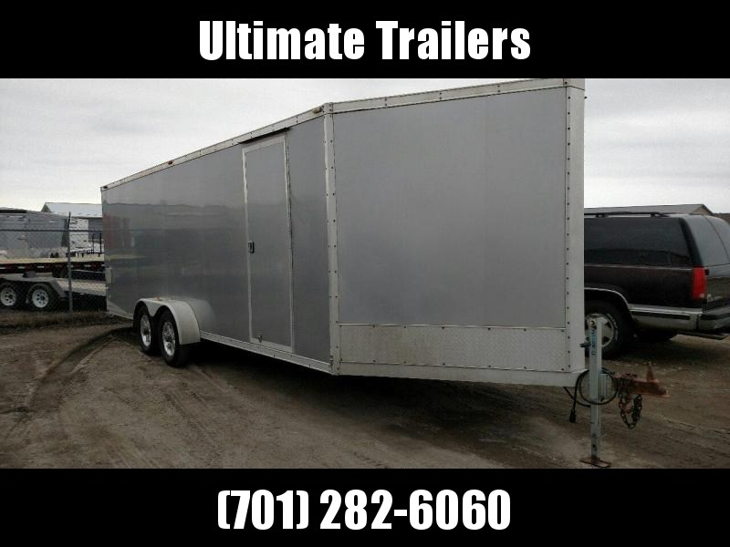 2012 NEO Trailers NAS728TA35 Snowmobile Trailer