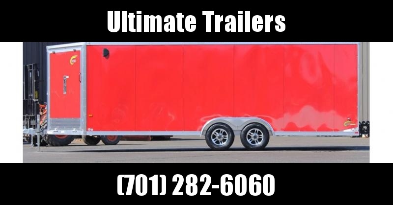 2019 NEO Trailers NCVF Flat Top Combo Auto Trailer
