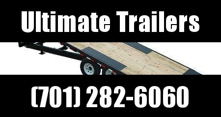2012 PJ Trailers T8 22' Deckover Tilt Equipment Trailer