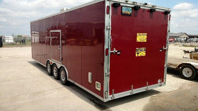 2013 Alcom-Stealth C8.5x28CH Car / Racing Trailer