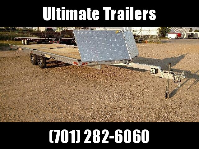 2019 22' Beartack 4 Place Snowmobile Trailer