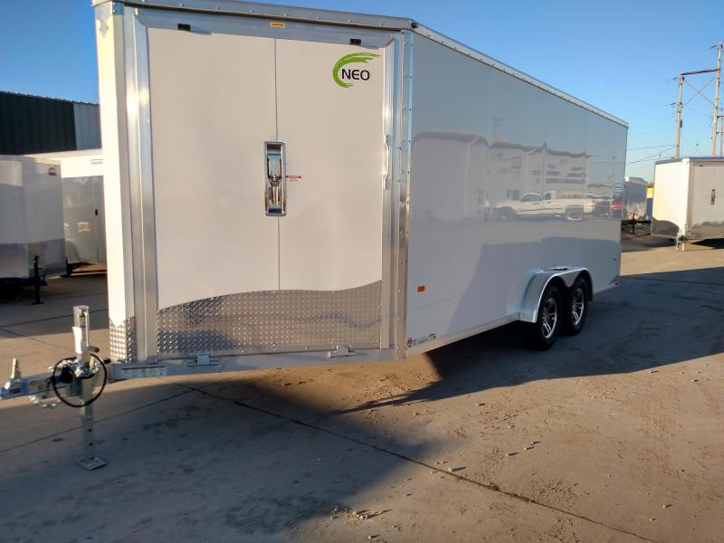 2019 NEO Trailers NAS2275TF12 Snowmobile Trailer