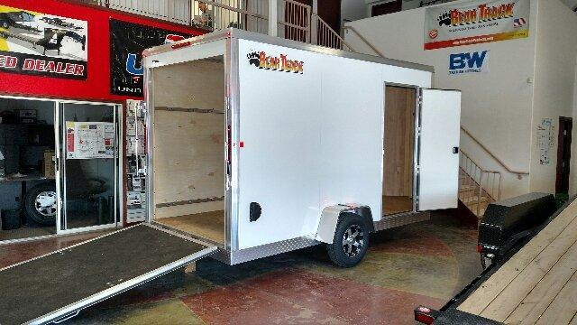 2018 Bear Track Products BTE612S-W Enclosed Cargo Trailer