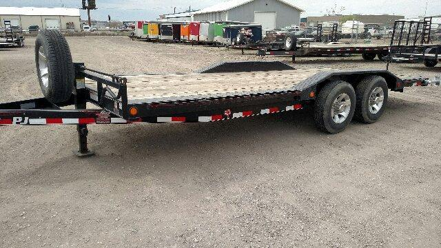 2015 PJ Trailers B6 Superwide 20 Equipment Trailer