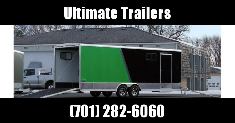 2019 NEO Trailers NCVR Round Top Combo Auto Trailer
