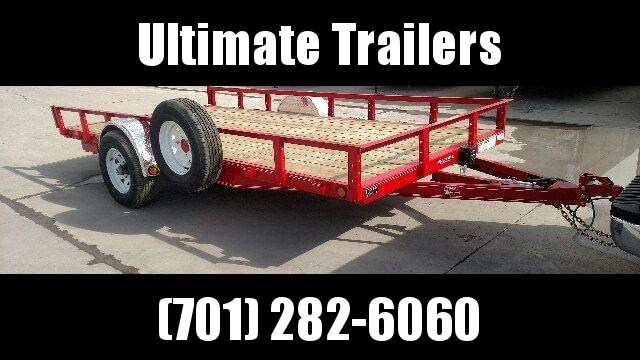 2019 PJ Trailers U8 Utility Trailer Utility Trailer