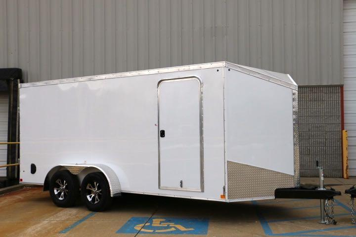 2018 Impact Trailers 7X16 Impact Shockwave Series Enclosed Cargo Trailer