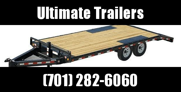 2019 PJ Trailers F8 Series 24' Deckover Trailer Equipment Trailer