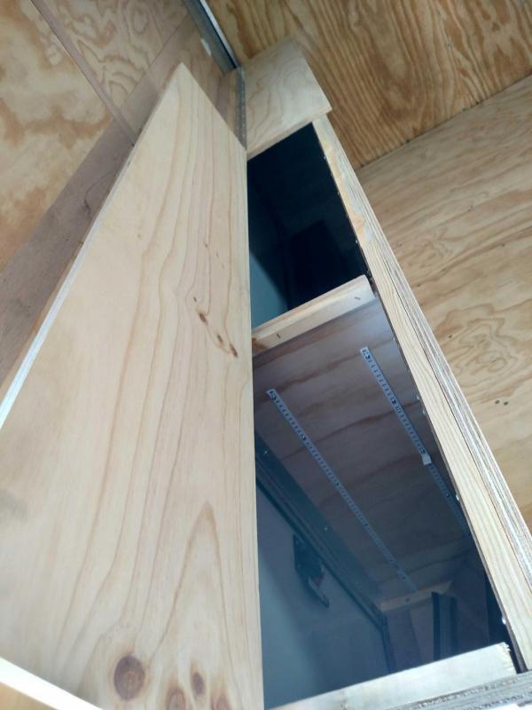 2020 United 8.5x16 Enclosed Tool Crib Trailer
