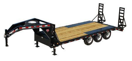 2019 PJ Trailers 8 I-Beam Deckover (F8) Equipment Trailer