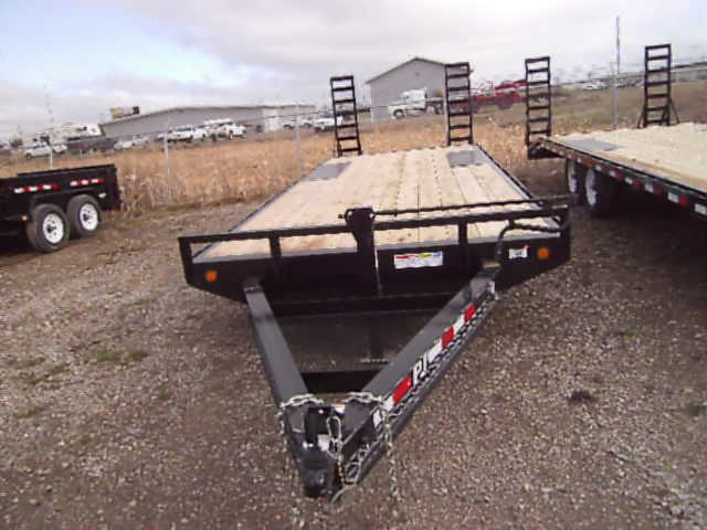2020 PJ Trailers 8 I-Beam 20' Deckover (F8) Equipment Trailer