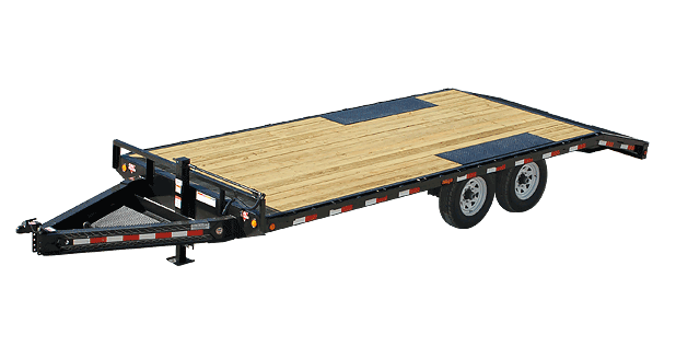 2019 PJ Trailers 8 I-Beam 22' Deckover (F8) Equipment Trailer