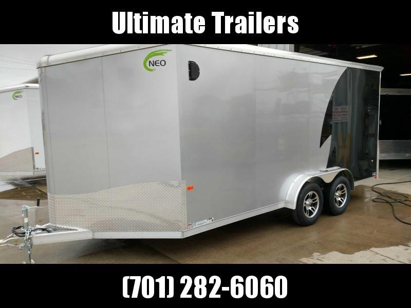 2019 NEO Trailers NAM1675TR80A Enclosed Cargo Trailer