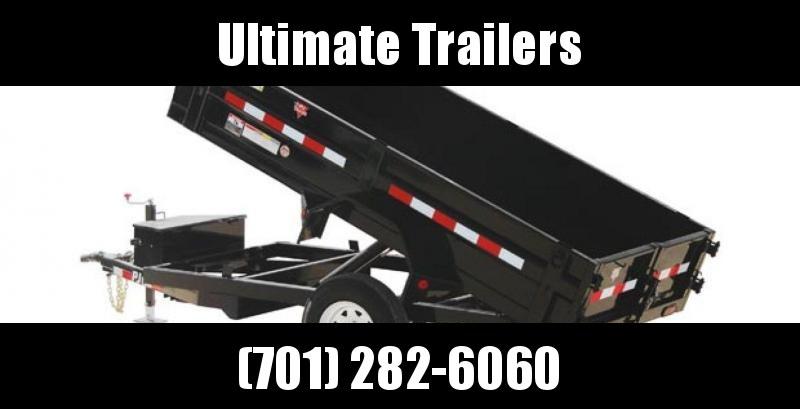 "2019 PJ Trailers D5 Series 60"" Utility Dump"