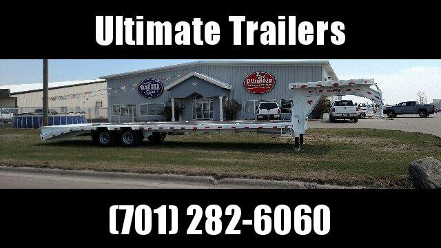 2020 PJ Trailers -  Low-Pro Gooseneck with Duals (LD) Equipment Trailer
