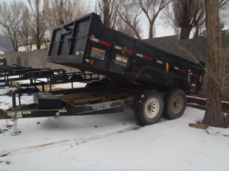 USED 7 X 12 12000 lb G.V.W. Dump Trailer