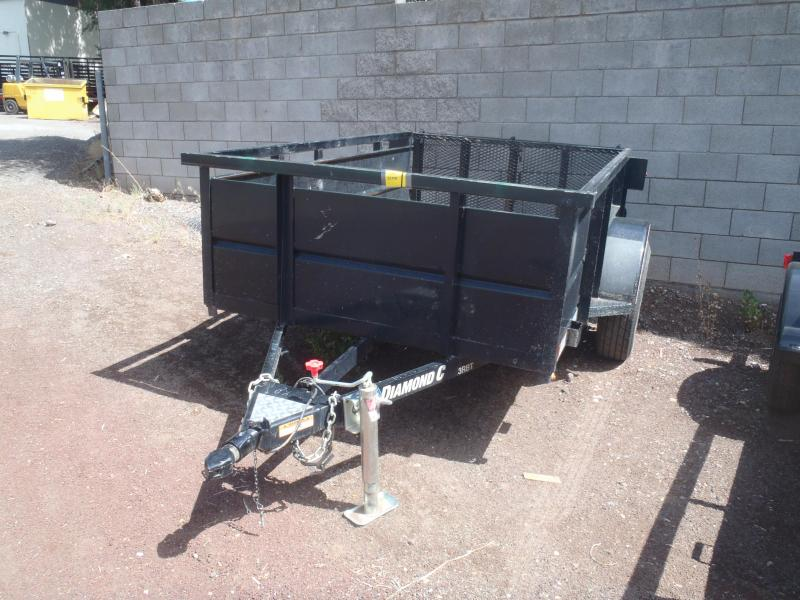 2018 Diamond C Trailers 5X8 3RBT Utility Trailer Land scaping