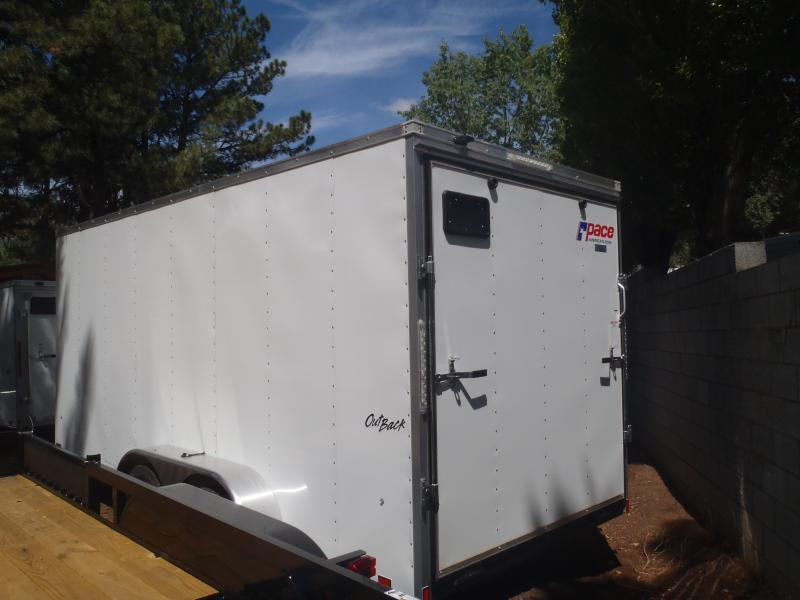7X16 ST Cargo Enclosed Cargo 7' Tall Ramp