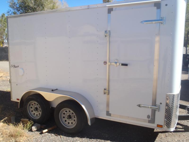 7x12 Enclosed Trailer Tandem Axle