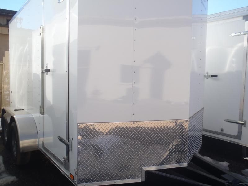 7x12 Enclosed Trailer Tandem Axle