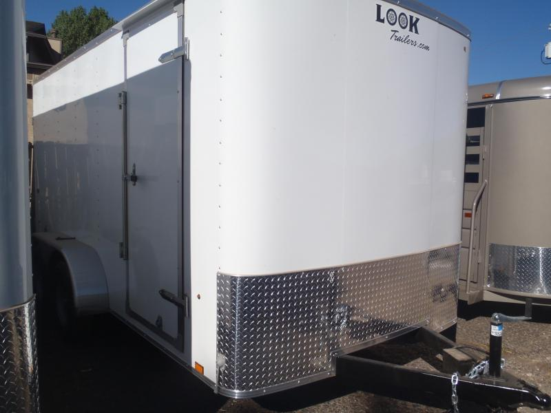 7x14 Enclosed Trailer Tandem Axle