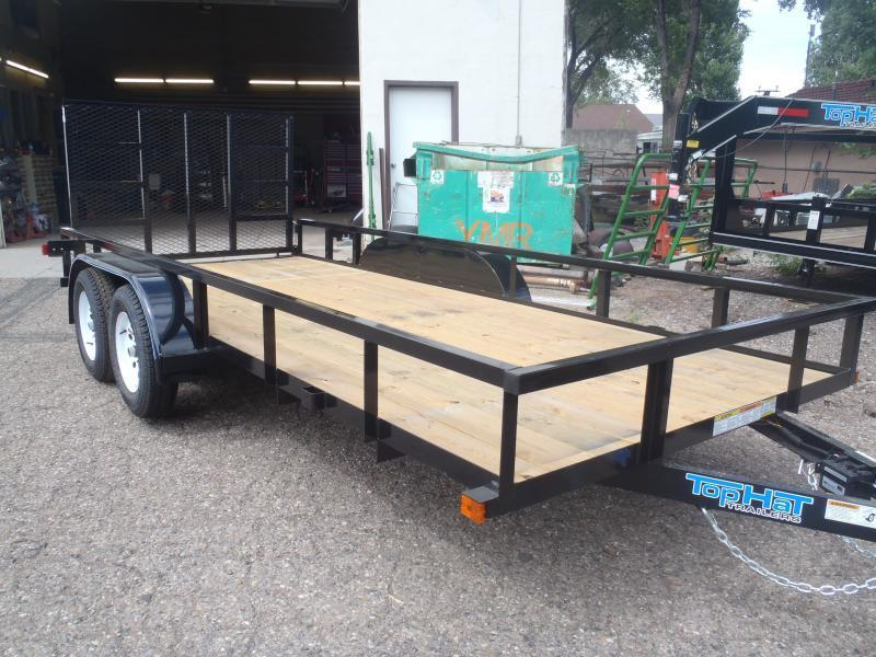 77X12 Light Duty Utility Trailer NO BRAKES with ramp
