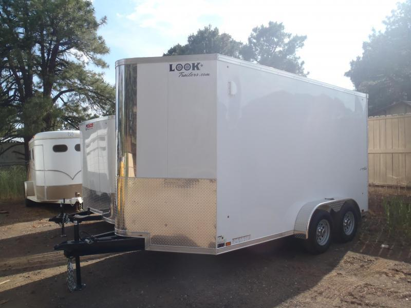 8.5X16 7' Tall Look Trailers Vision Cargo / Enclosed Trailer