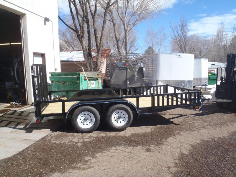 77X14 Tandem Axle Quad Ramps and Ramp Gate Utility Trailer in Ashburn, VA