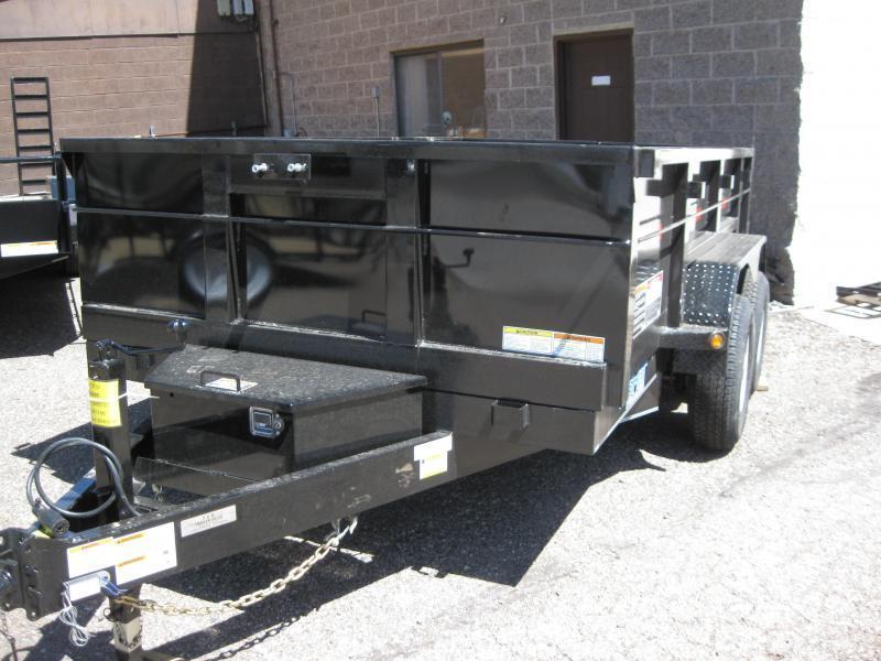 7' X 16' 14000 lb G.V.W. Dump Trailer