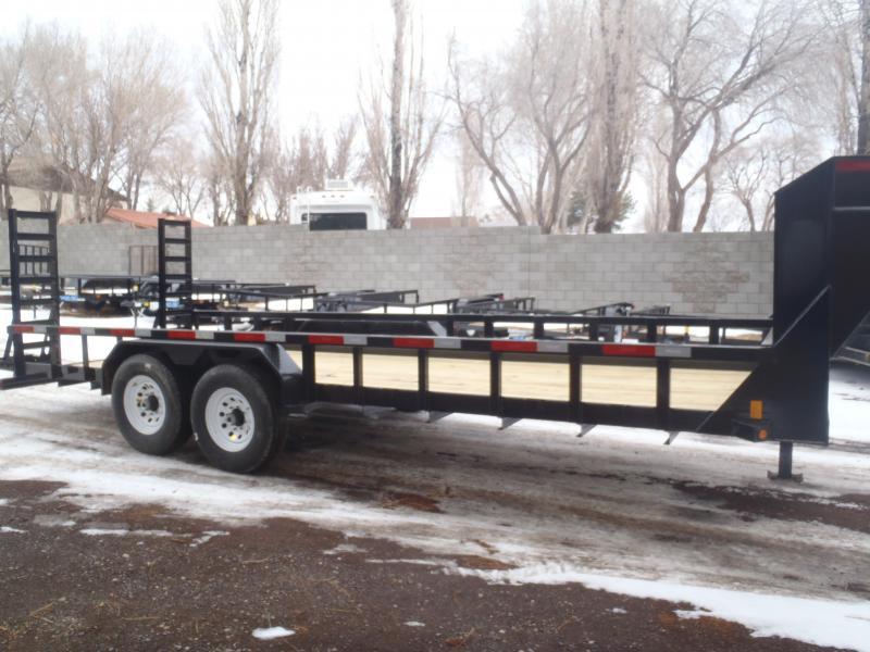 83X20 Heavy Hauler Gooseneck 14K Equipment Trailer