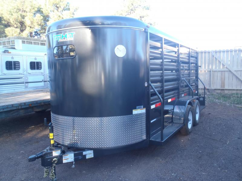 Damaged 6 X 16 Brahama Livestock Trailer
